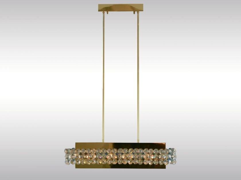 Classic style pendant lamp MAGNIFICENT CHANDELIER - Woka Lamps Vienna