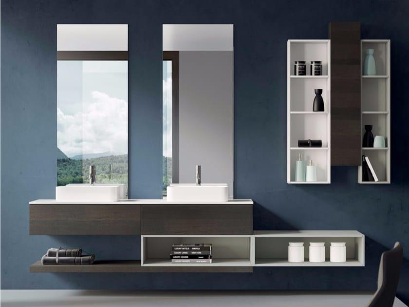 Bathroom cabinet / vanity unit MAKE 04 by LASA IDEA