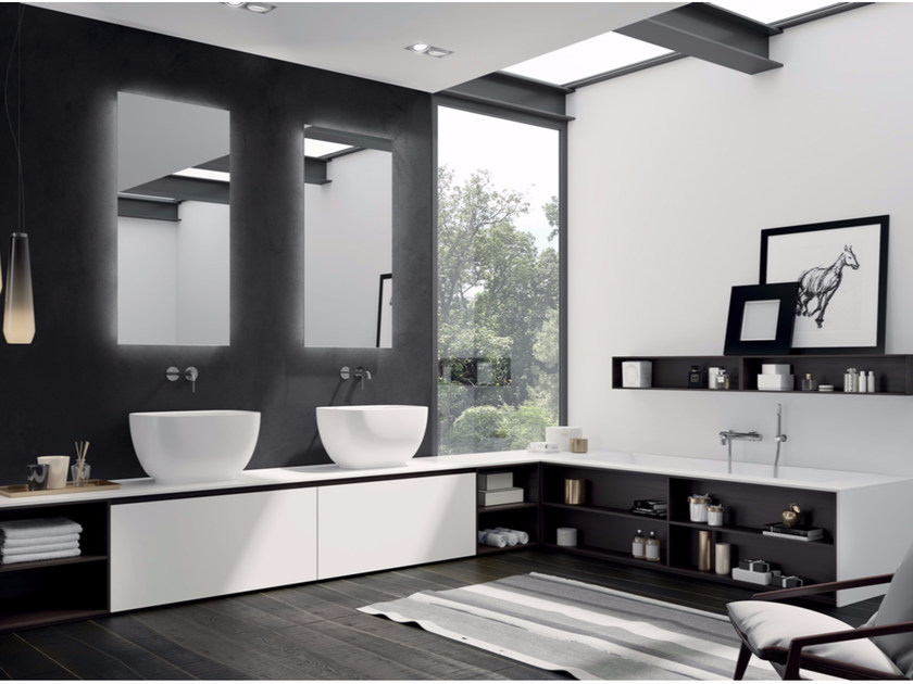Sistema bagno componibile MAKE 06 by LASA IDEA