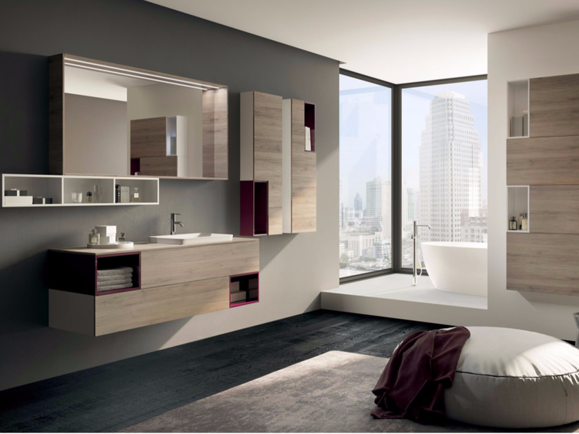 Sistema bagno componibile MAKE 07 - LASA IDEA