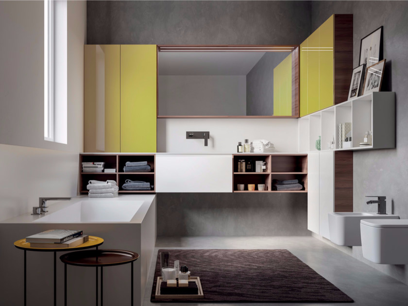 Bathroom cabinet / vanity unit MAKE 08 - LASA IDEA