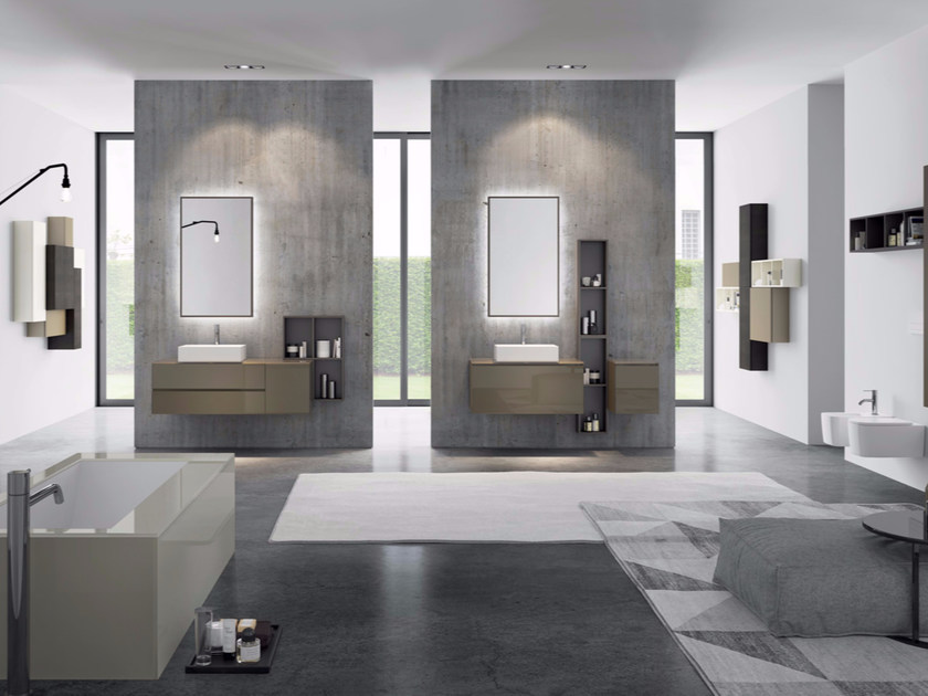 Sistema bagno componibile MAKE 11 - LASA IDEA