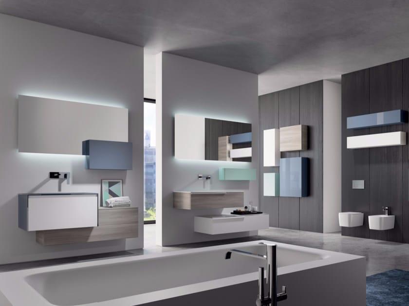 Bathroom cabinet / vanity unit MAKE 13 - LASA IDEA
