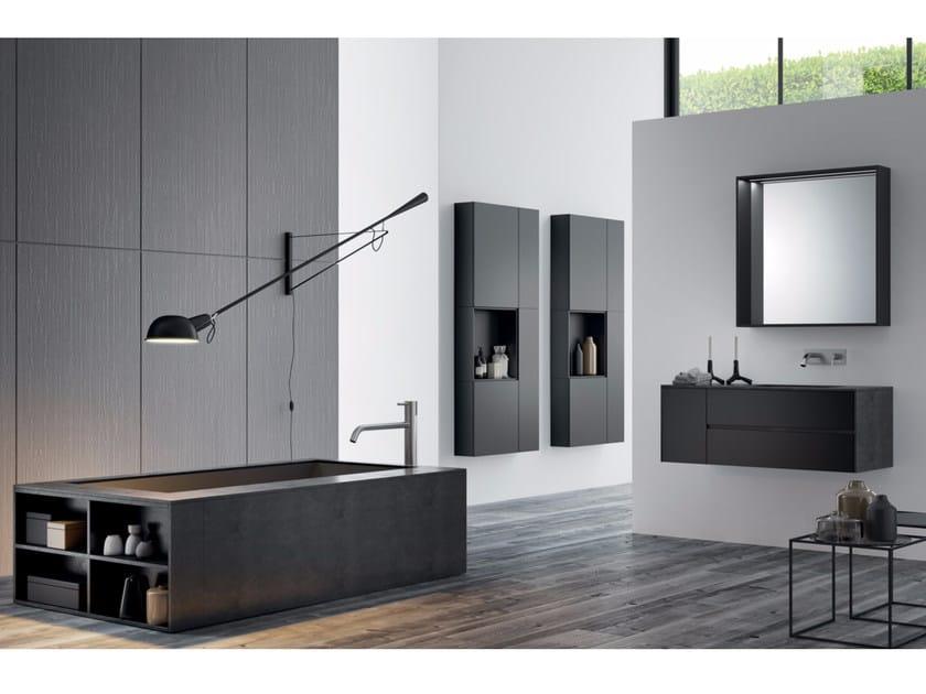 Bathroom cabinet / vanity unit MAKE 14 - LASA IDEA