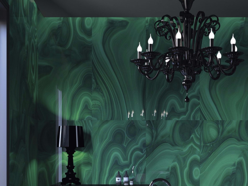 Porcelain stoneware wall/floor tiles MALACHITE - GranitiFiandre