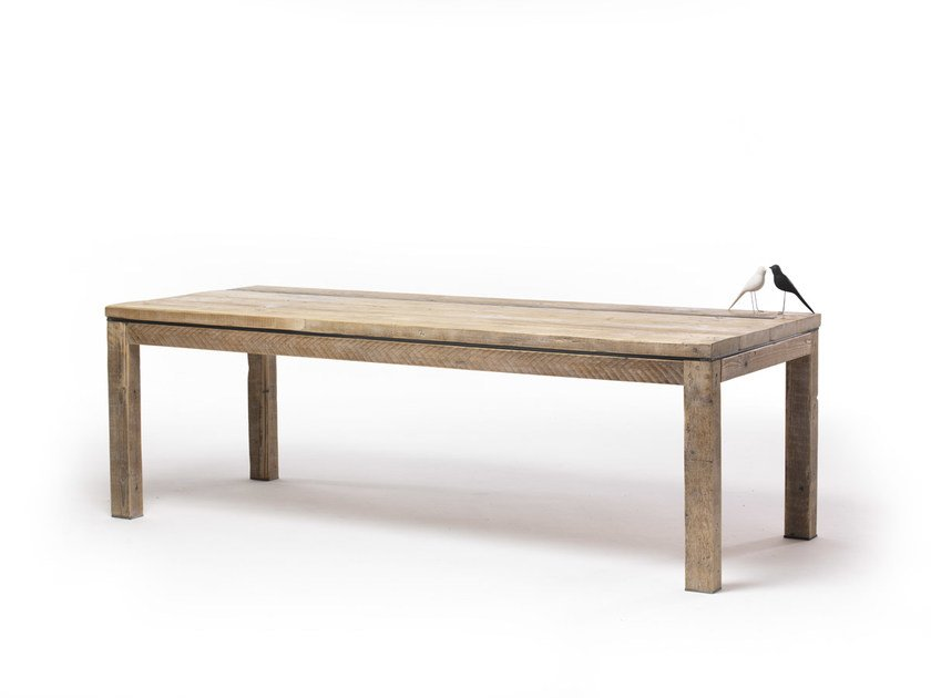 Rectangular spruce table MALICK | Rectangular table - Vontree