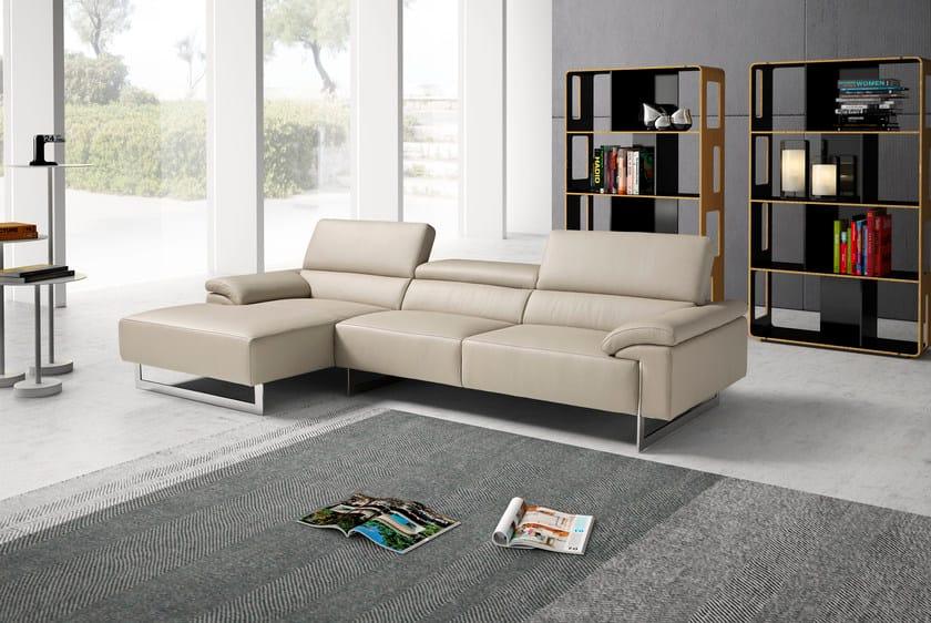Divano componibile con chaise longue malika divano for Ego italia divani