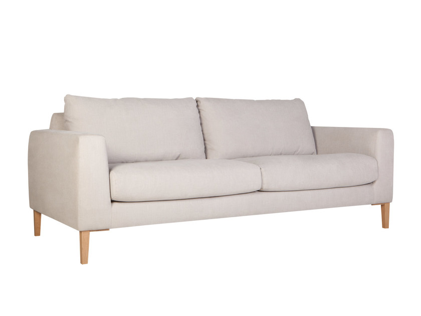 Upholstered 3 seater fabric sofa MALIN | 3 seater sofa - SITS