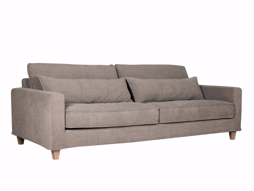 Upholstered 3 seater fabric sofa MALTE - SITS