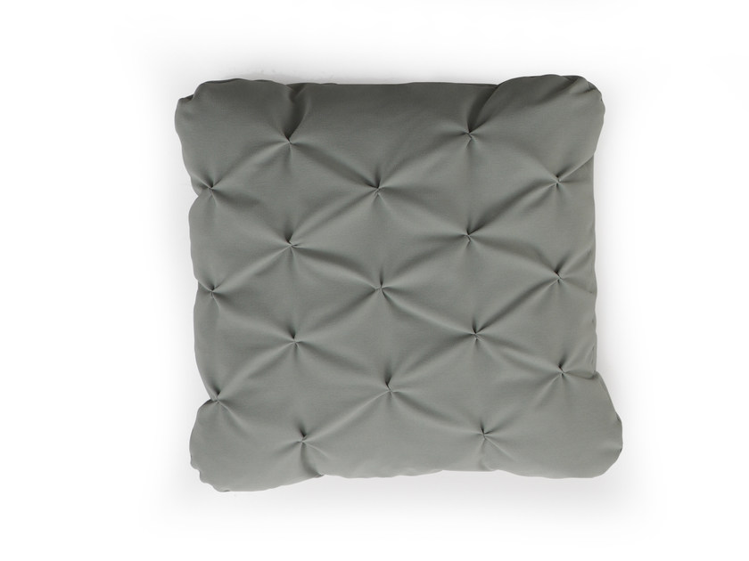 Square fabric sofa cushion MANDARINAS - SANCAL