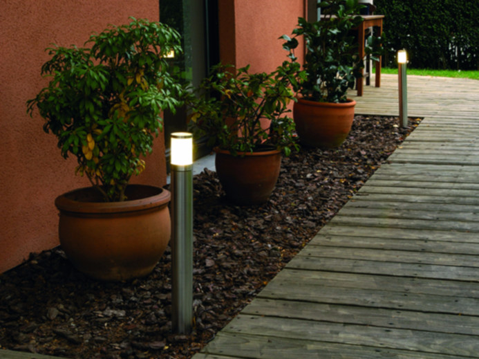 Stainless steel bollard light MANIX FL by BEL-LIGHTING