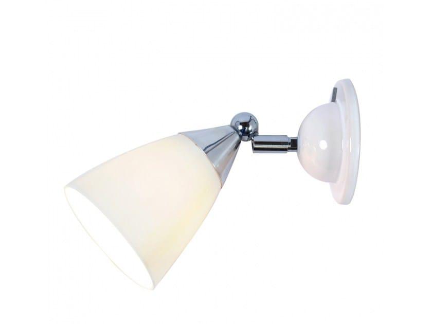 Lampada da parete orientabile in porcellana con dimmer MANN | Lampada da parete con dimmer - Original BTC