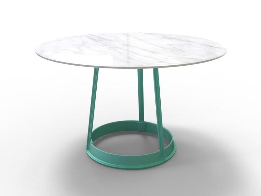 Round table BRUT | Marble table - Magis