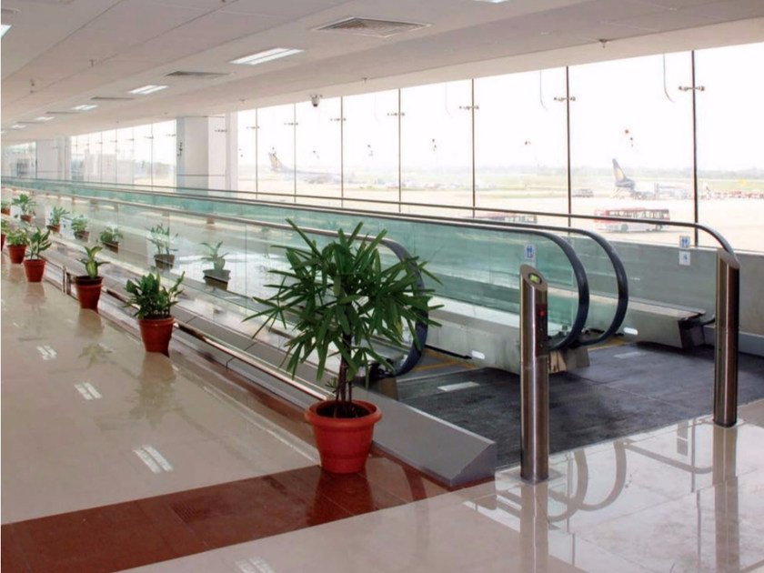 Horizontal moving walkway Horizontal moving walkway - GRUPPO MILLEPIANI