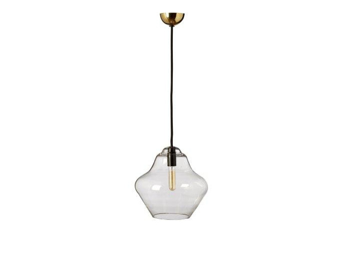 Blown glass pendant lamp CHARI-VARI by CFOC