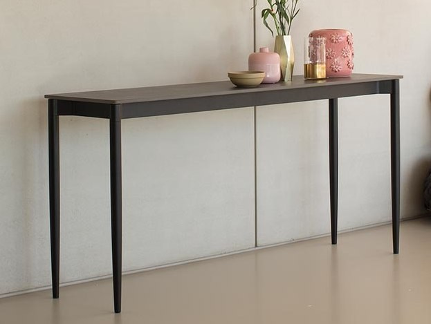 Rectangular Xeramica console table MARGUERITE | Console table by Joli
