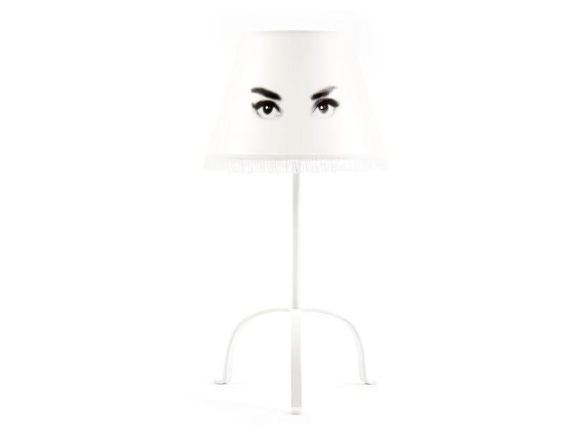 Fabric bedside lamp AUDREY | Bedside lamp - Mineheart