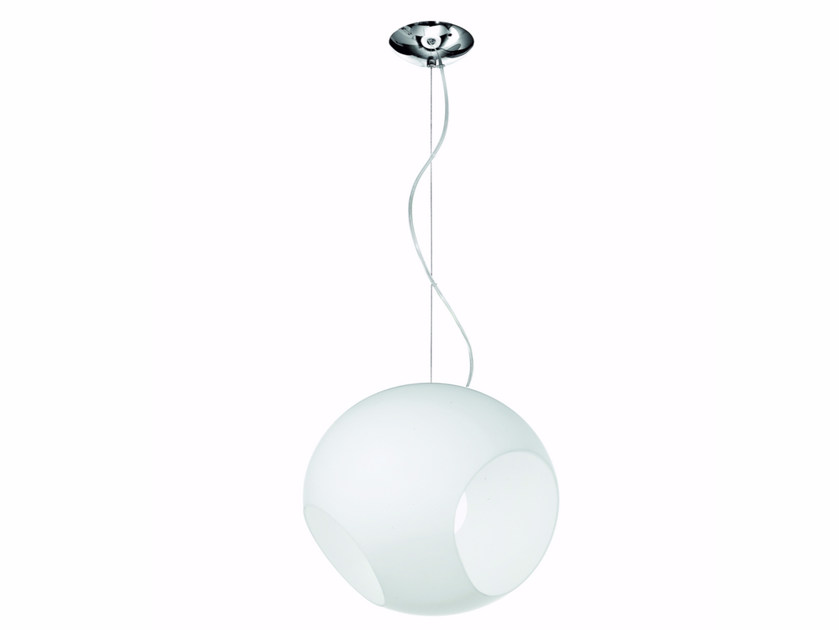Blown glass pendant lamp MARILYN | Pendant lamp - ROSSINI ILLUMINAZIONE