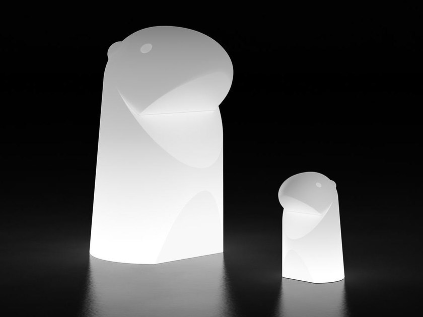 LED polyethylene table lamp MARMOTTA LIGHT by Plust