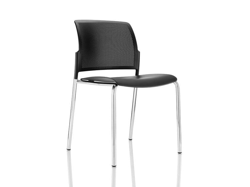 Polypropylene chair MARS LEISURE | Chair by Boss Design