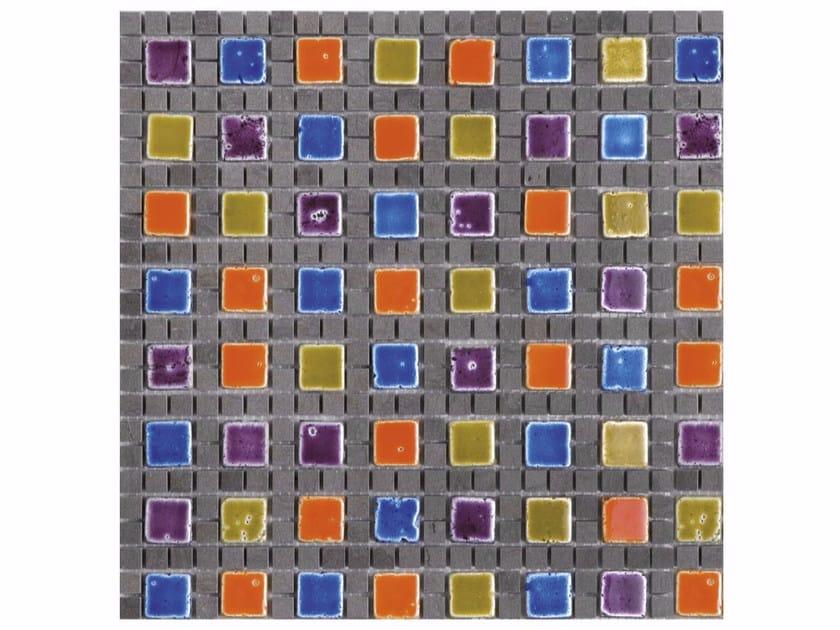 Marble mosaic BOITE - CONTEMPORARY BOX - MARSHALL by Lithos Mosaico Italia