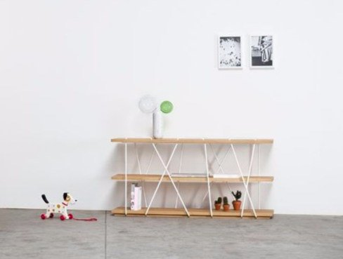 Open bookcase MATASSINA | Contemporary style bookcase by Miniforms