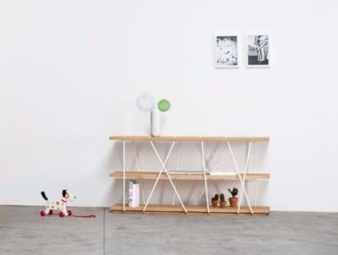 Open bookcase MATASSINA | Contemporary style bookcase - Miniforms