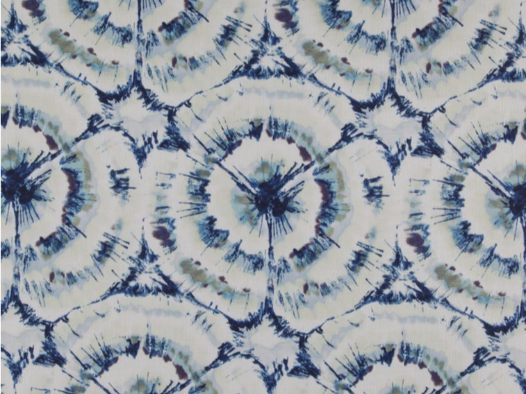 Printed polyester fabric with graphic pattern MATILDA by FR-One