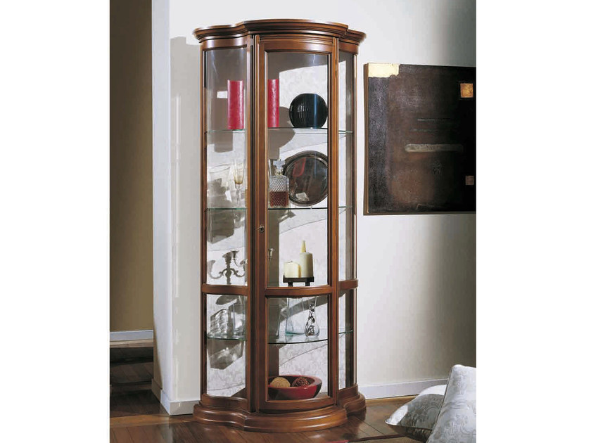 Solid wood display cabinet MATILDE by Arvestyle