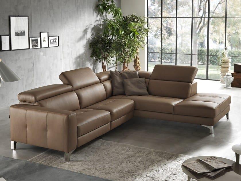 Sectional relaxing sofa MATT | Sectional sofa - Egoitaliano