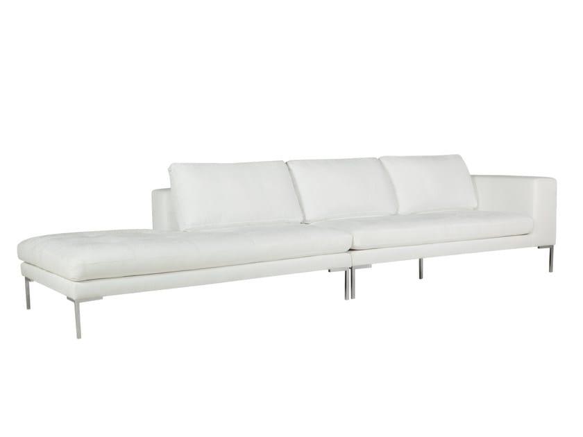 Sectional upholstered 4 seater fabric sofa MATTIAS | 4 seater sofa - SITS