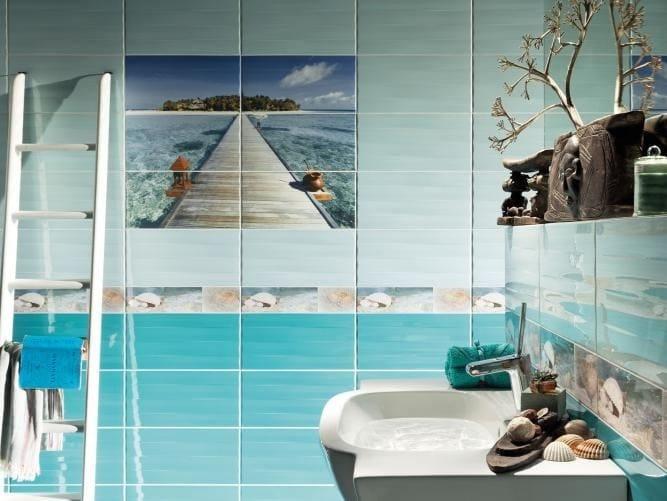 Indoor wall/floor tiles MAXIMA AZURE - TUBADZIN