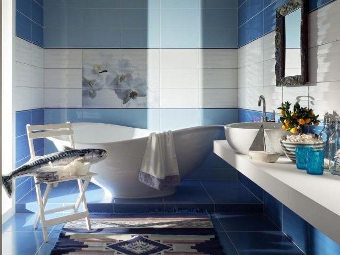 Indoor wall/floor tiles MAXIMA BLUE by tubadzin