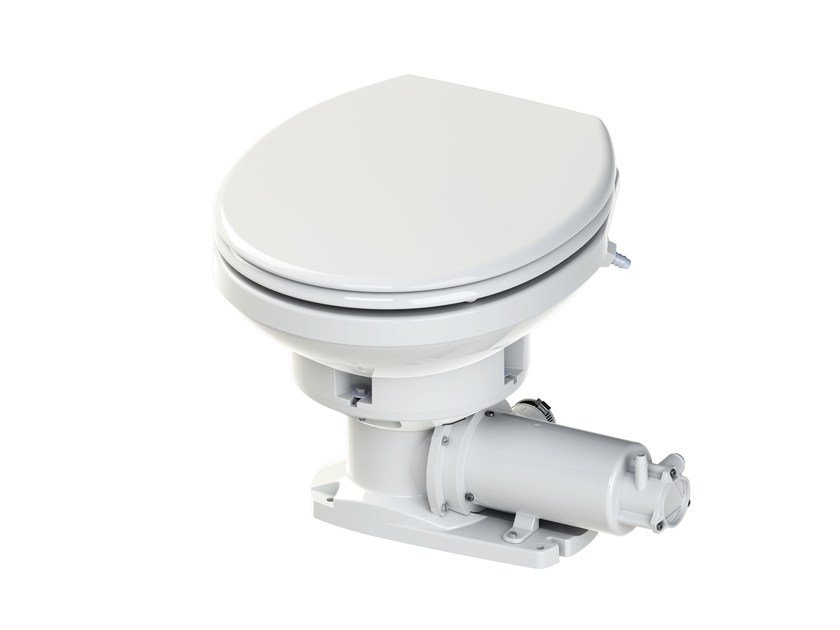 Electric Toilet with waste macerator SANIMARIN MAXLITE - SFA
