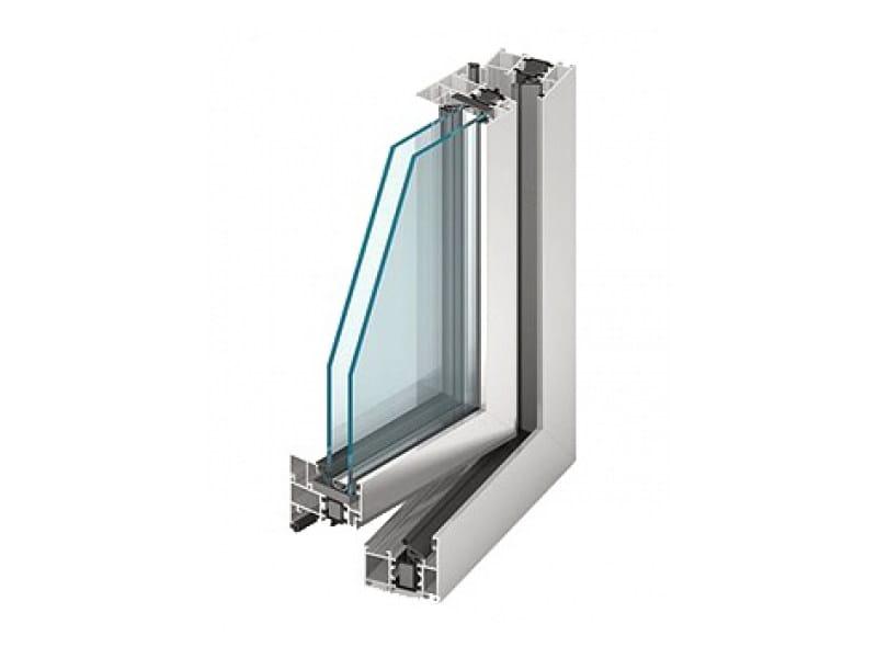 Aluminium double glazed window MB-60 | Aluminium window by EKO-OKNA