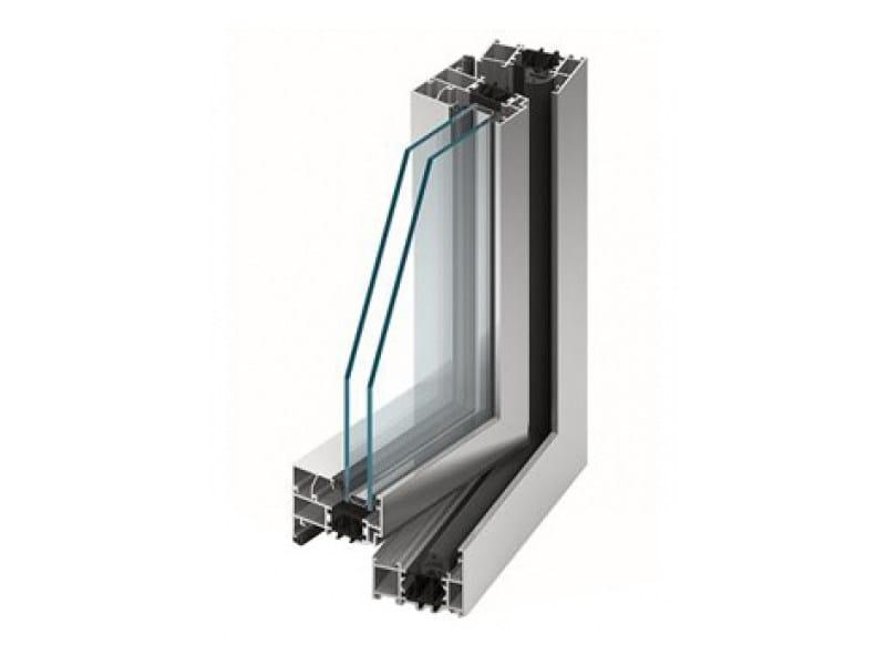 Aluminium double glazed window MB-70 | Aluminium window by EKO-OKNA