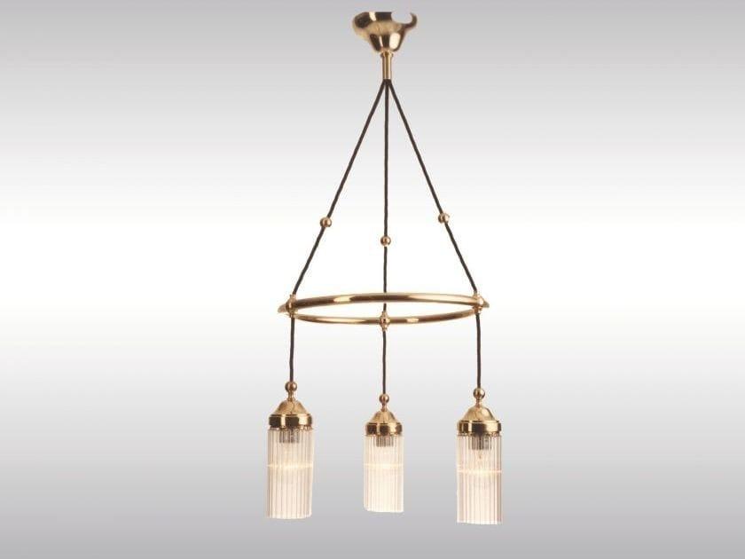 Classic style pendant lamp MB1-3fl - Woka Lamps Vienna