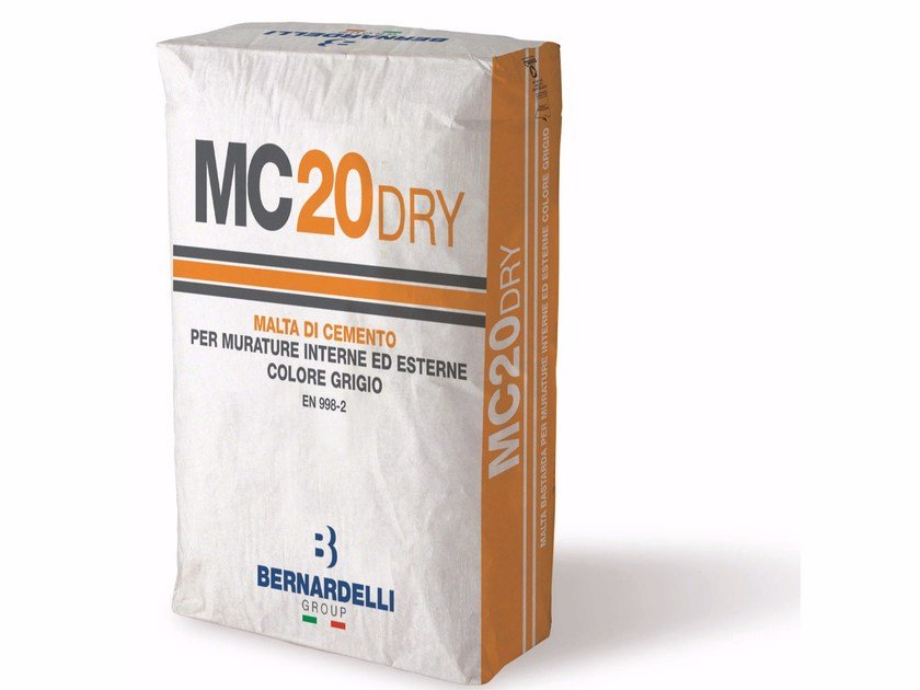 Mortar for masonry MC20DRY by Bernardelli Group