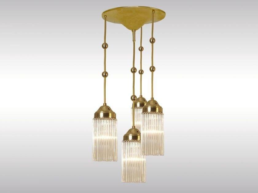 Classic style pendant lamp MB34fl - Woka Lamps Vienna
