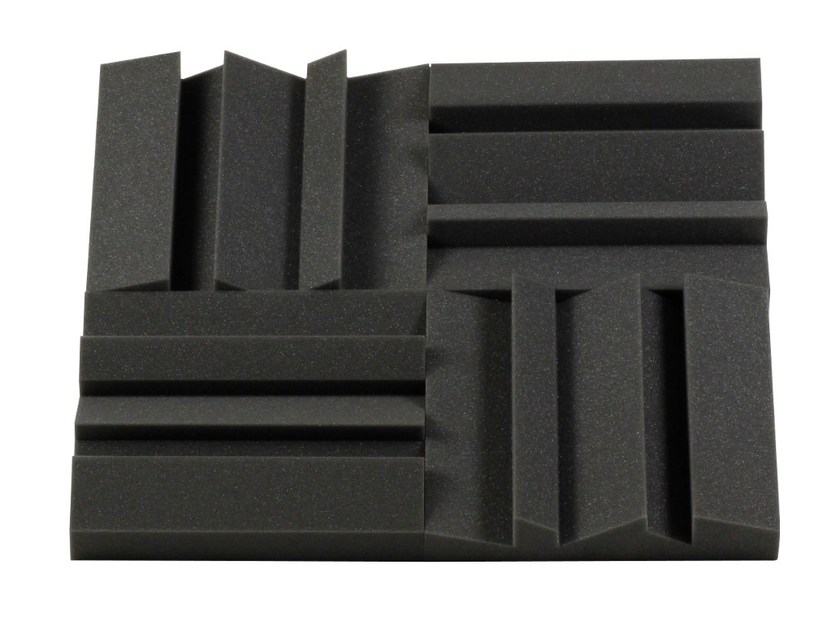 Polyurethane foam decorative acoustical panels MD55 - Vicoustic by Exhibo