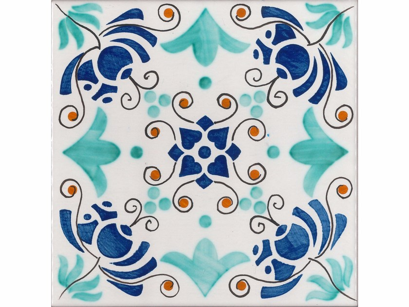 Wall/floor tiles MEDITERRANEO M6 by Made a Mano