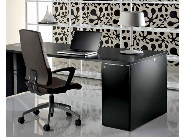 Rectangular office desk with drawers MEDLEY | Office desk with drawers - Castellani.it