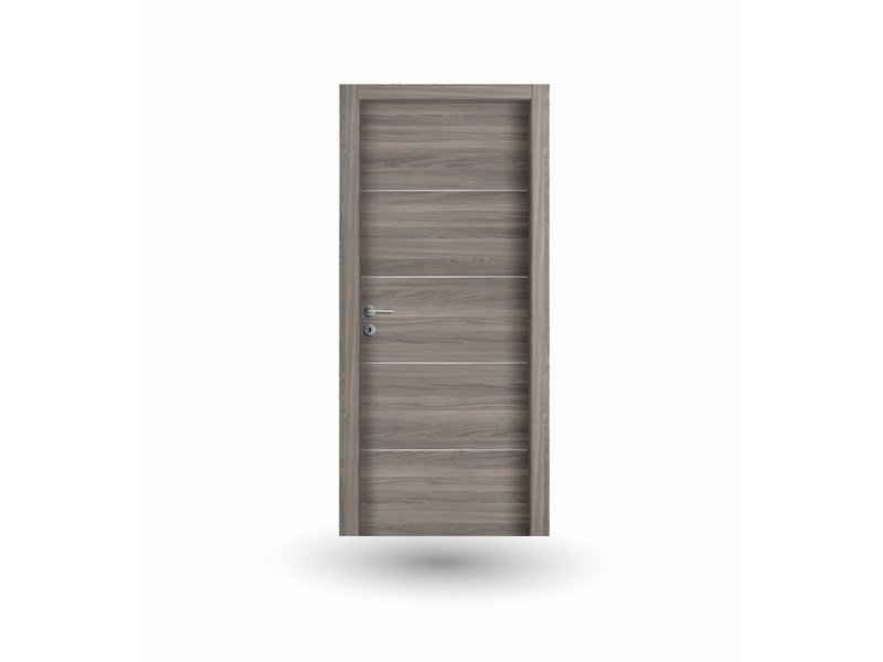 Hinged wooden door MEDUSA M 392 AMBRA - GD DORIGO