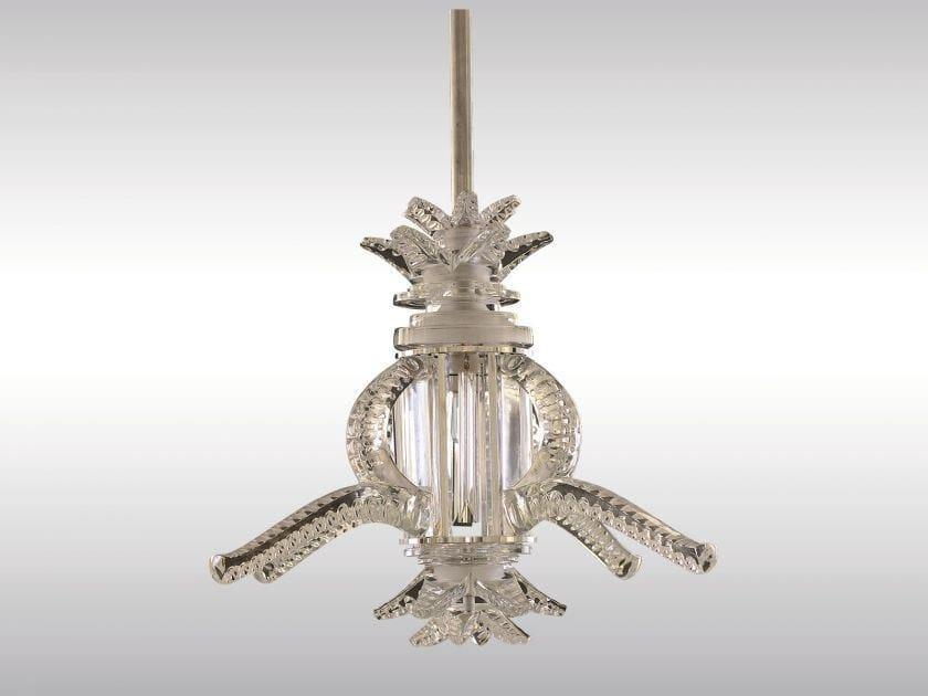 Classic style crystal pendant lamp MEDUSE - Woka Lamps Vienna