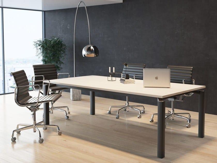 Tavolo da riunione rettangolare FF | Tavolo da riunione - BALMA