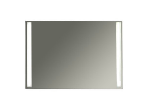 Wall-mounted bathroom mirror with integrated lighting MEG11 - 80 x 70 by GALASSIA
