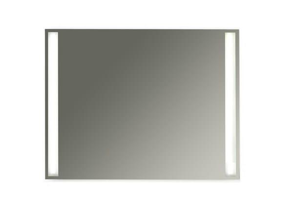 Wall-mounted bathroom mirror with integrated lighting MEG11 - 90 x 70 - GALASSIA