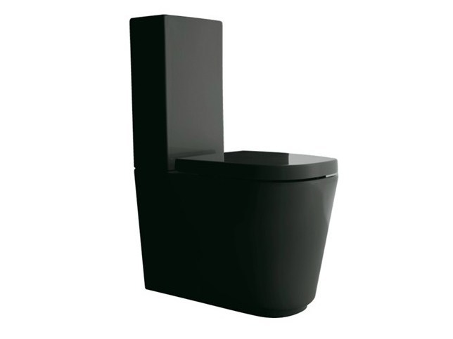 Close coupled ceramic toilet MEG11 | Close coupled toilet - GALASSIA