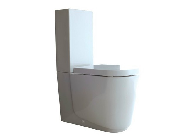 Close coupled ceramic toilet MEG11 | Close coupled toilet - GALASSIA