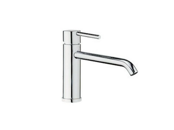 Countertop single handle washbasin mixer MEG11 | Single handle washbasin mixer by GALASSIA